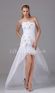 Brautkleid spitze kurz langarm