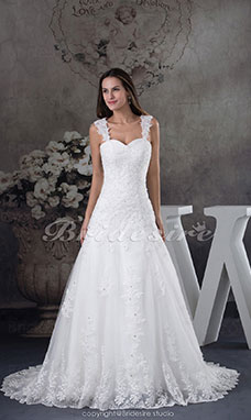 Brautkleid hinten spitze