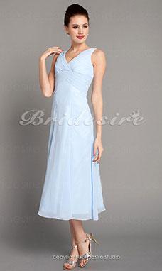 Kleid brautjungfer taupe