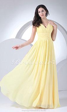Chiffon kleider pastell