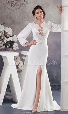 Bridesire - Kleider Mit Ärmel Für Bräute  Jahrgang und Elegant ... 7dbb91f8bb