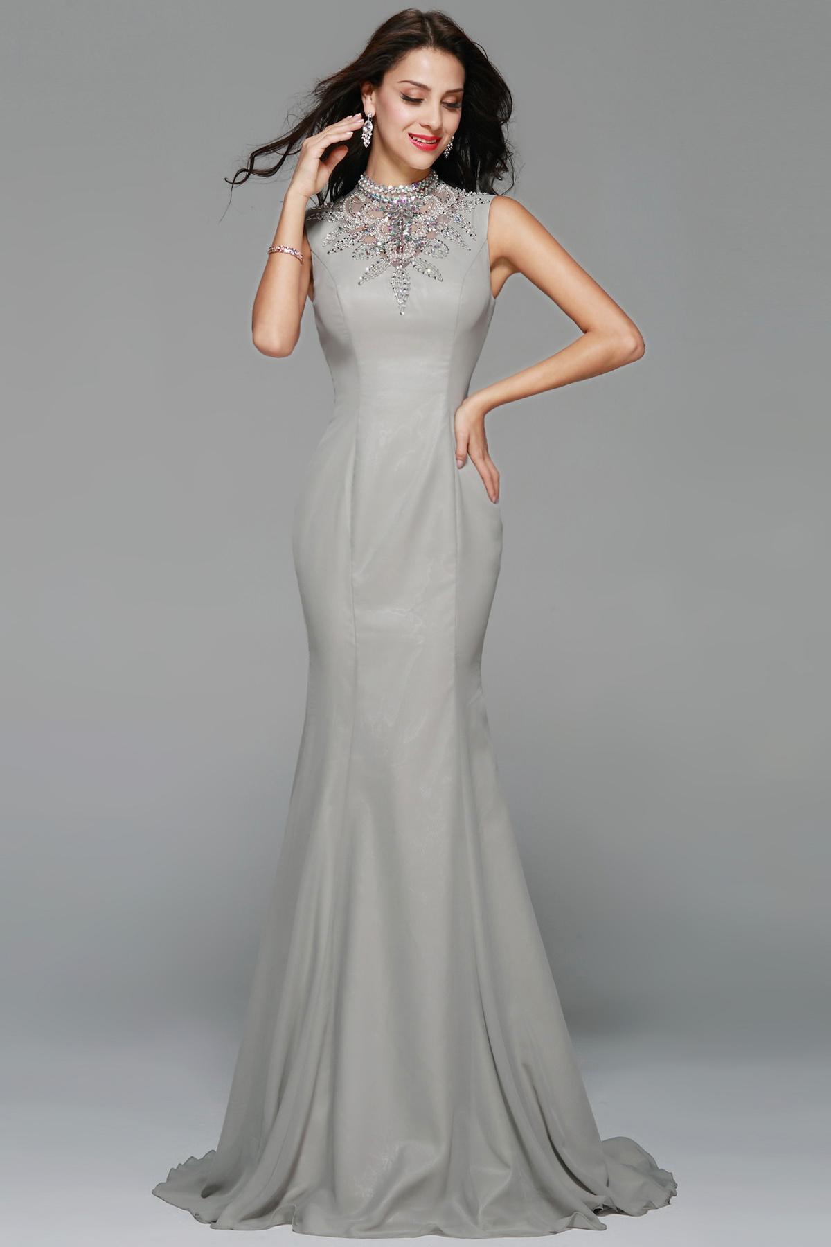 Bridesire - Meerjungfrau-Linie / Mermaid-Stil Juwel ...